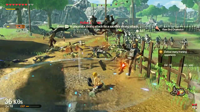 Hyrule Warriors Age Of Calamity Drops Weapon Durability