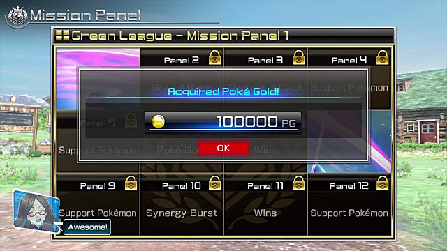 Ferrum League Mission Panels Guide Pokken Tournament DX
