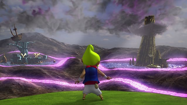 Hyrule Warriors Legend Mode Tetra