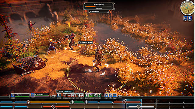 Combat in Iron Danger is a mix of real-time and turn-based tactics.