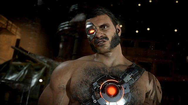Kano smirks in Mortal Kombat 11, one of NetherRealm's finest fighting games.