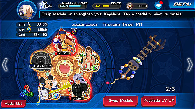 Kingdom Hearts Unchained X Keyblade And Medal Guide Kingdom Hearts