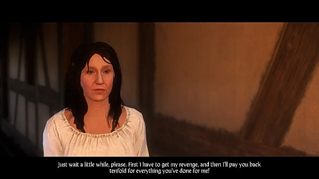 Don't be tempted to pickpocket the old lady in Kingdom Come Deliverance A Woman Scorned