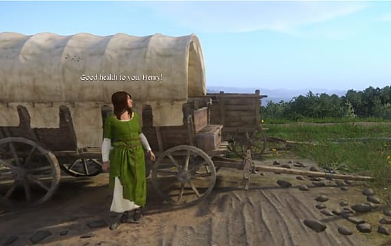 Kingdom Come Deliverance A Woman Scorned asks you to help this poor lady retrieve her groschen
