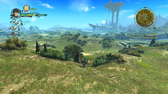 A vast plain stretches for miles in Ni No Kuni 2 Revenant Kingdom