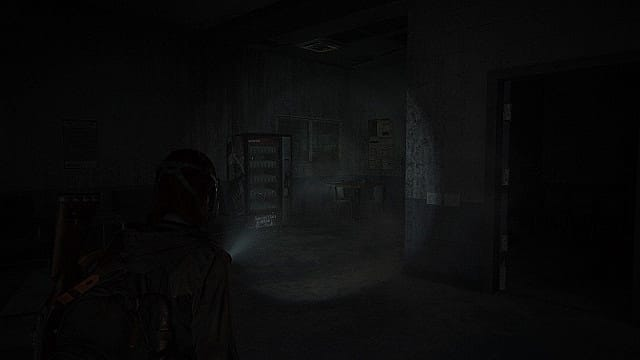 The vending machine with the soda can code in The Last of Us 2.