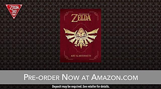 The Legend of Zelda Art & Artifacts book.