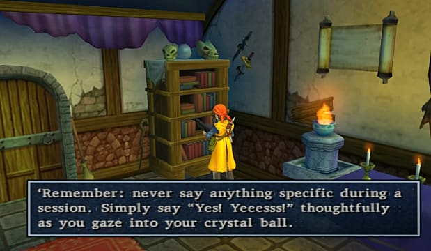 DQ8 Crystal Ball