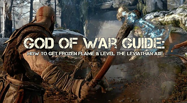 God of War Frozen Flame Guide: How to Get It & Level the Leviathan