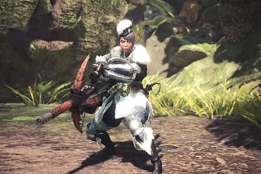 Here's a typical Monster Hunter light bowgun build