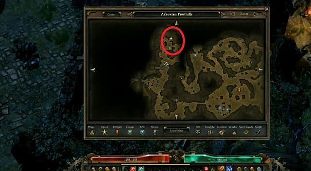 Finding the lost elder in Grim Dawn