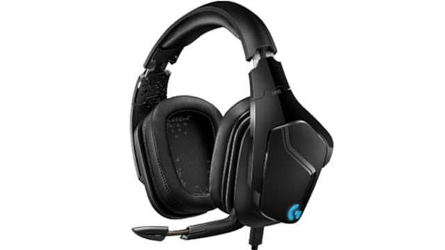 Logitech G935 left-side view with mic
