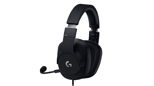Logitech G PRO Gaming Headset Side View with Mic