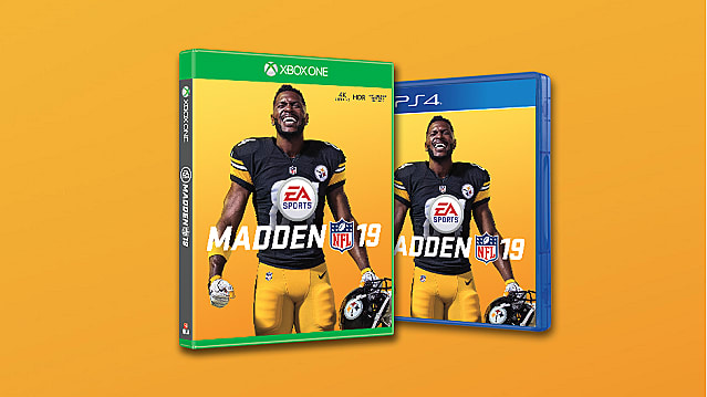 Antonio Brown Named Madden 19 Cover Athlete | Madden NFL 19