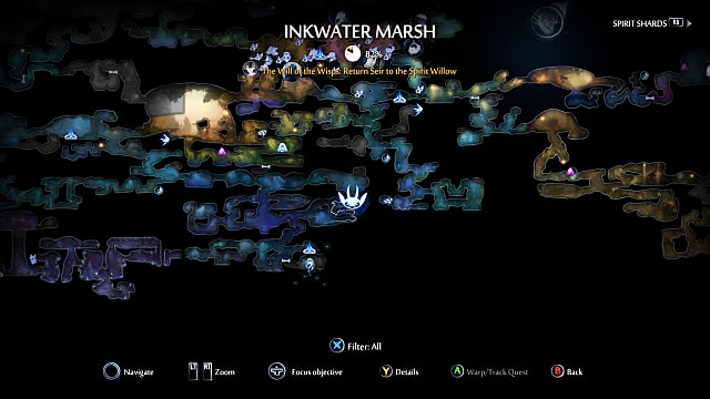 Magnet ability location map.