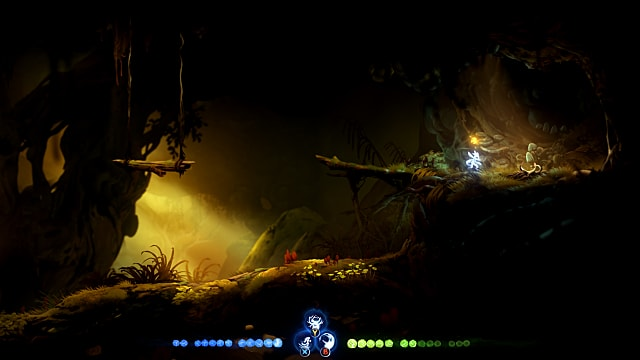 Go past the spirit edge ability tree in Inkwater March to find Magnet.