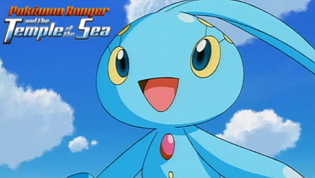 Pokemon Ranger And The Temple Of The Sea Is Now Playing On Pokemon