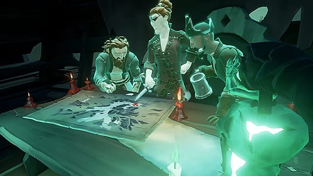 Sea of Thieves ghost pirates.