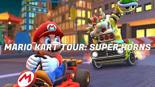 Mario Kart Tour Guide How To Get The Super Horn And Land 5