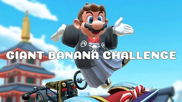 Mario Kart Tour Giant Banana Challenge Guide Mario Kart Tour