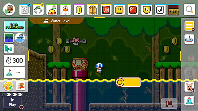 Super Mario Maker 2: How to Make Water/Lava Rise and Fall