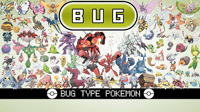 Bug Is The Weakest Type of Pokemon In Any Generation | Pokémon