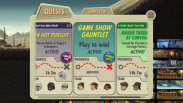 Fallout Shelter Halloween 2020 Quest Fallout Shelter Game Show Gauntlet Quest Answers | Fallout Shelter