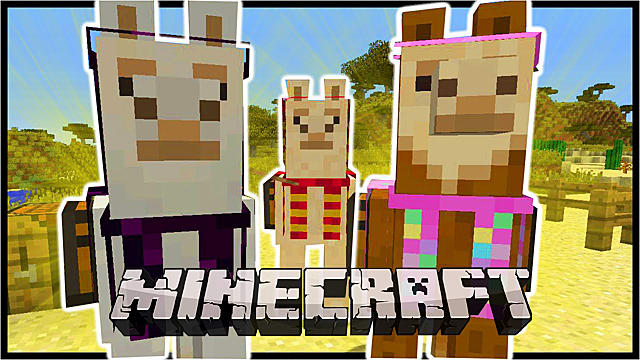 How To Tame Ride And Breed Llama In Minecraft 1 11 Minecraft