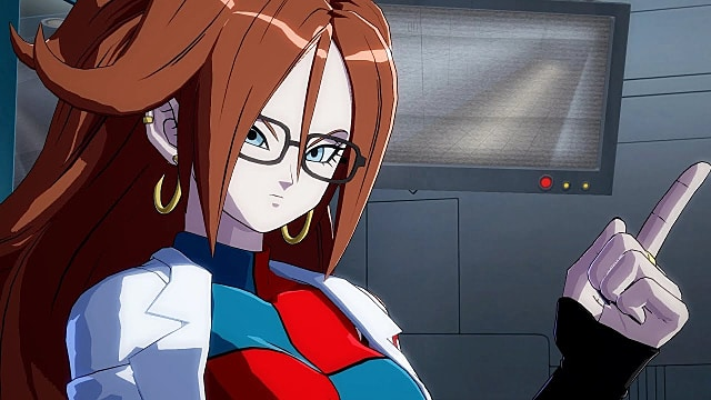 android 21 looking ready for a dragon ball fighterz link event