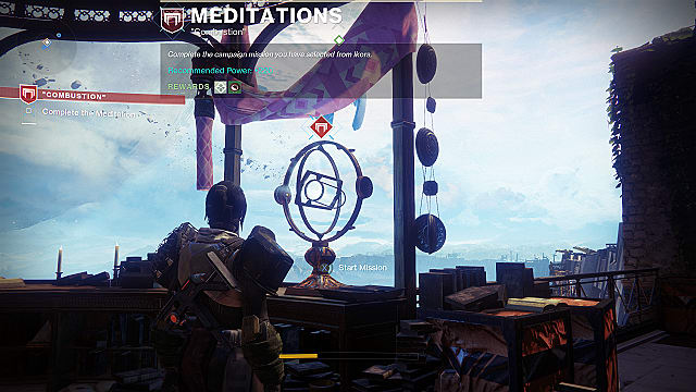 Destiny 2 meditations