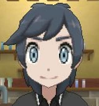 medium and layered haircut in Pokemon Ultra Sun and Ultra Moon