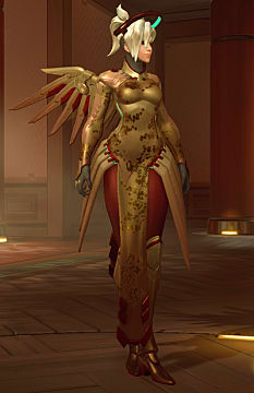 Mercy year of the rooster skin