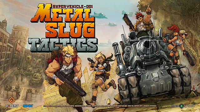 Metal Slug Tactics Takes the Series to a Whole New Battlefield | Metal Slug  Tactics