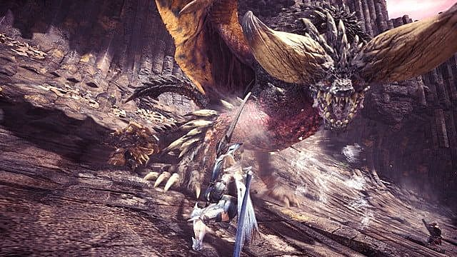Takin on a Diablos to get a Majestic Horn Monster Hunter World style
