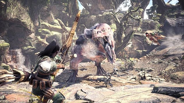 Hunting with the bow in Monster Hunter World