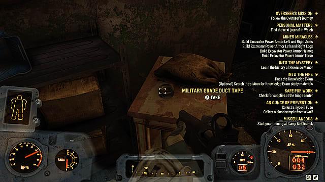 Ballistic Fiber Locations in Fallout 76