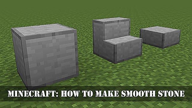 Minecraft How To Make Smooth Stone Minecraft