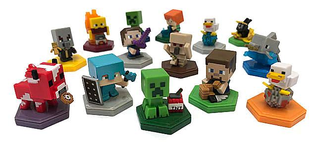 Minecraft Earth Boost Mini Figures.