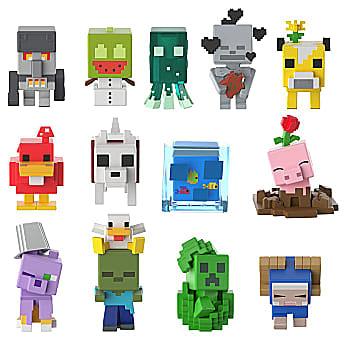 Minecraft Minis figures from Mattel.