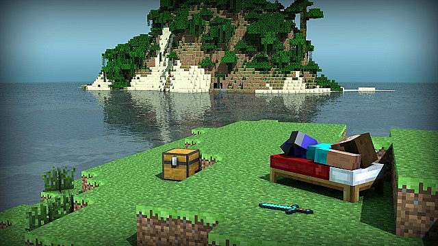 The Best Minecraft Seeds For Lazy People | Minecraft