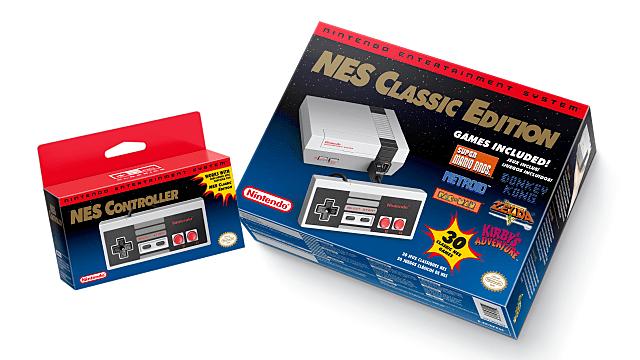 NES Classic Edition, NES controller
