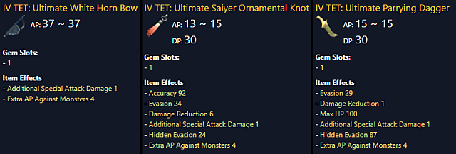 BDO sub-weapon selection is crucial