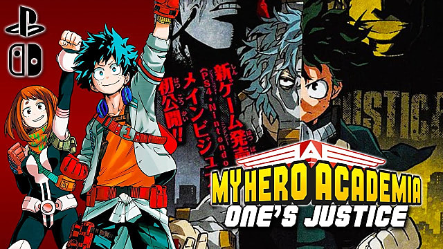 Image result for my hero academia one's justice