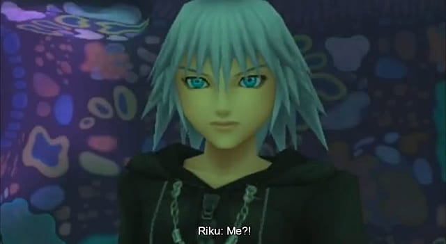 A puzzled Riku in Kingdom Hearts 3