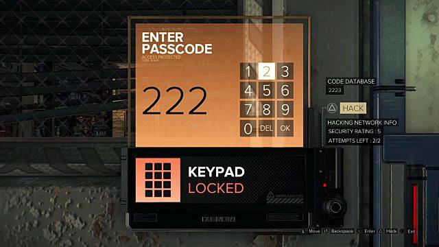 Hidden Door Lock