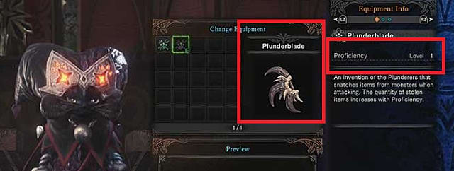 Of all the MHW palico gadgets, the plunder blade looks to be this one's favorite