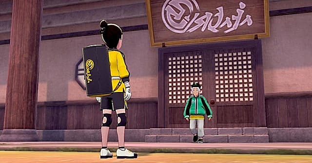 Meeting Mustard at the Isle of Armor Dojo before being sent to find Max Mushrooms.
