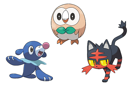 These Fan Made Pokemon Sun And Moon Starter Evolutions Will Put A Pop Plio In Your Step Pokemon Sun And Moon