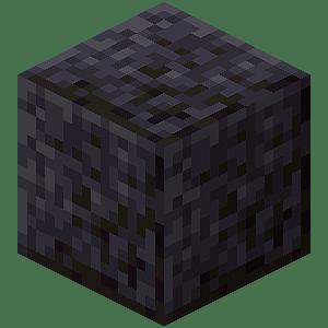 A polished blackstone block.