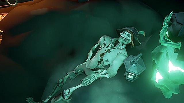 Sea of Thieves Dougie's skeleton.